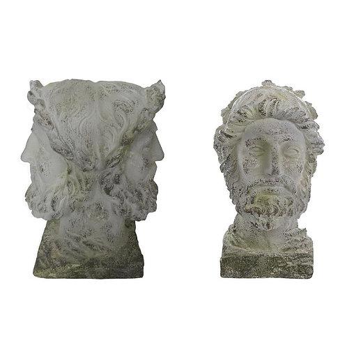 L'Antiquario - Busto doppio viso cm.43 h.