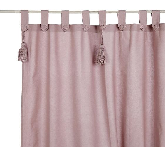 Infinity - Tenda rosa polvere 150x300