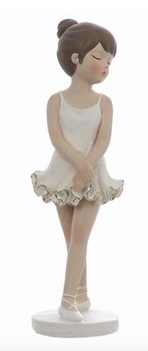 Romantic Ballet - Ballerina in piedi bianca