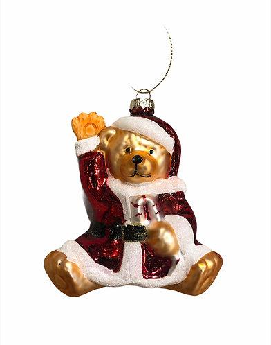Santa's - Teddy Claus vetro 12h.