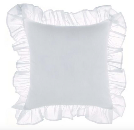 Frill - Cuscino arredo Bianco