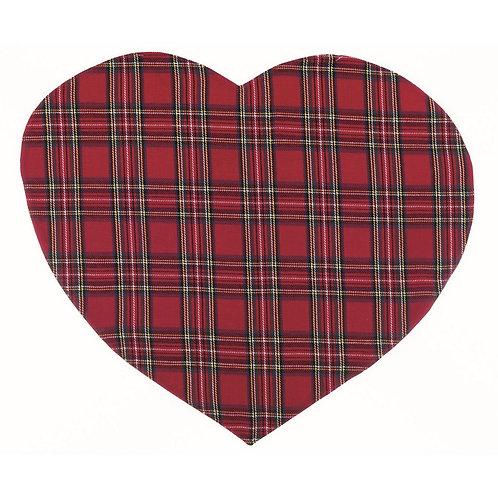 Tartan - Tovaglietta cuore