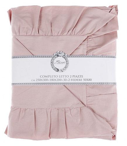 Iris rosa - Completo letto 2p.