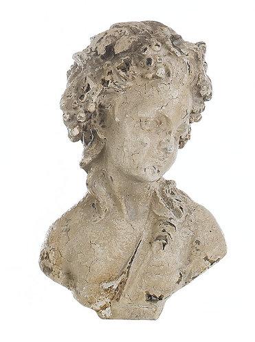 L'Antiquario - Busto uomo cm.30 h