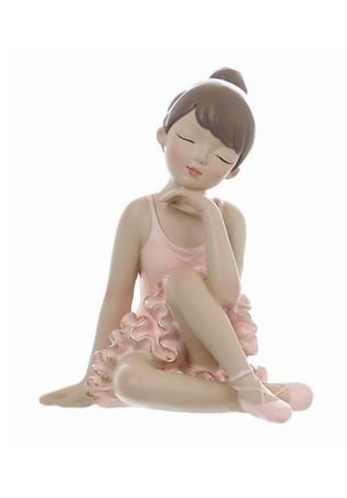 Romantic Ballet - Ballerina seduta rosa