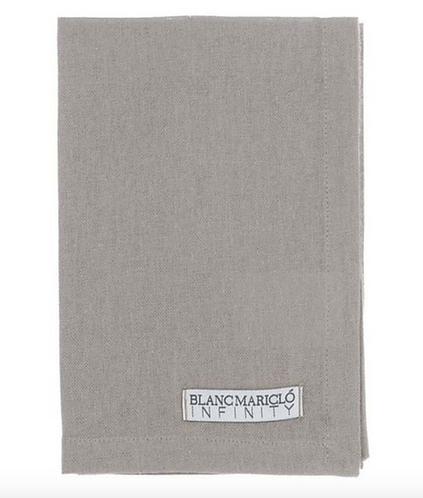 Infinity - Set 6 tovaglioli grigio
