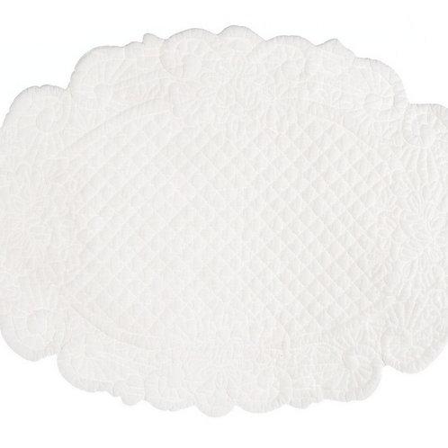 Lindsay - Tovaglietta ovale avorio