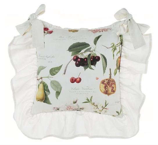 Botanical - Copri cuscino sedia con ala