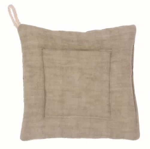 Washed Linen - Presina sabbia 18x18