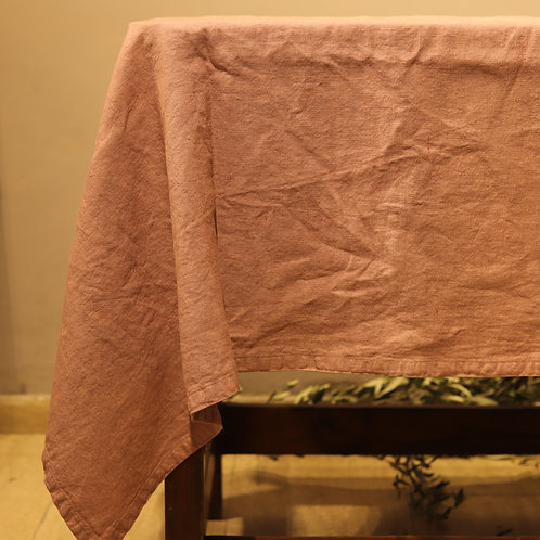 Pan di Lino - Tovaglia color rosa 140x330