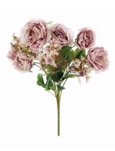 Garden Flowers - Bouquet rose rosa con fiorellini