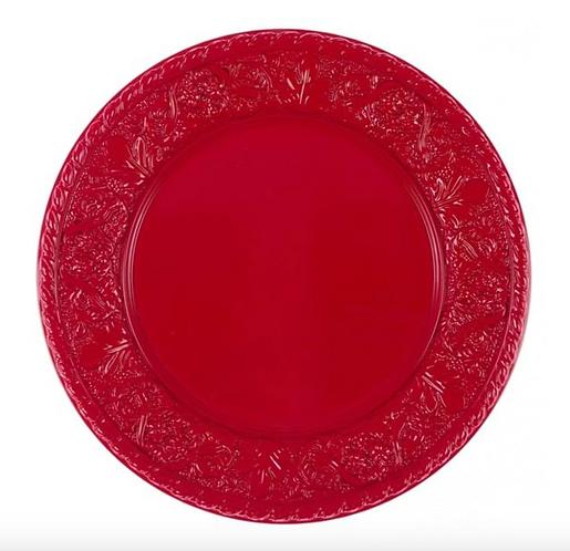 Concerto - Sotto piatto rosso cm.30
