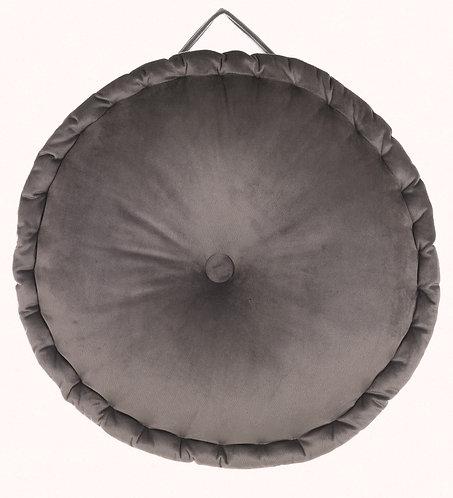 Le Chic - Cuscino tondo grigio