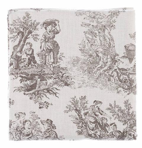 Toile de Jouy - Tovaglia copritutto cm.180x240 gr