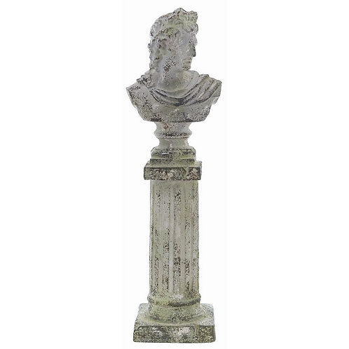 L'Antiquario - Colonna con busto cm.64 h.