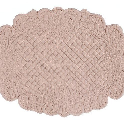 Lindsay - Tovaglietta ovale rosa