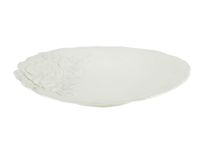 Romantica - Vassoio ovale artigianale