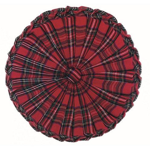 Vischio - Cuscino tondo tartan