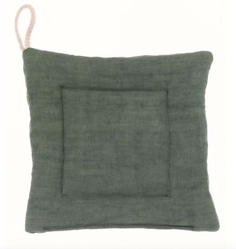 Washed Linen - Presina verde 18x18