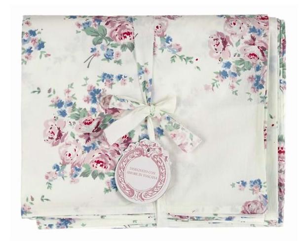 Mirabell - Copritutto fiori 180x260