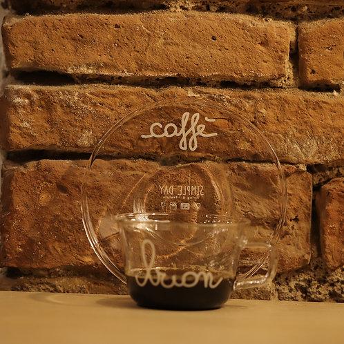 "Lovely - Set 2 tazzine ""buon caffè"""