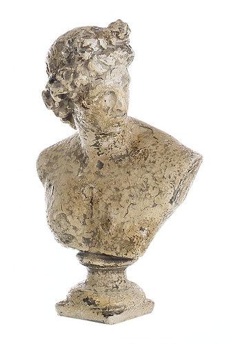 L'Antiquario - Busto uomo cm.32 h