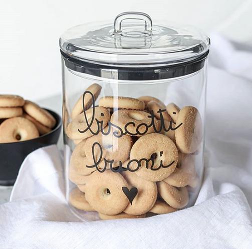 "Lovely - Barattolo ""biscotti buoni"""