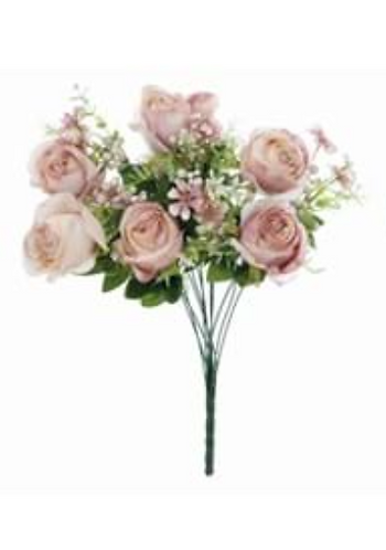 Garden Flowers - Bouquet di rose cipria
