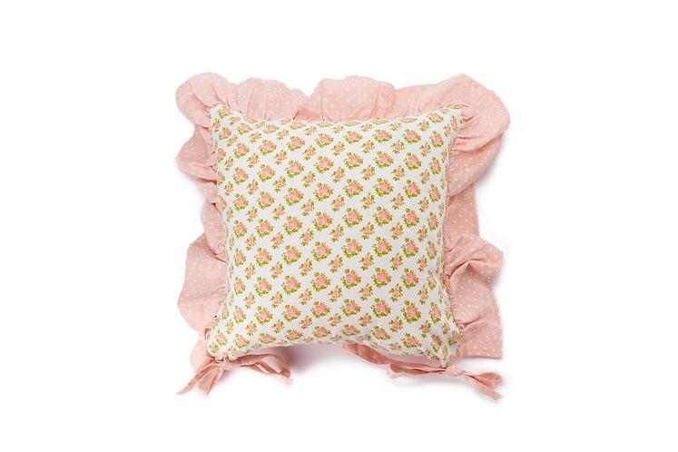 Margaret - Cuscino sedia fiorellini (con interno)