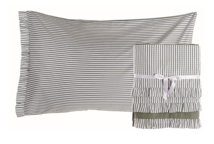 Gelateria - Completo letto singolo verde