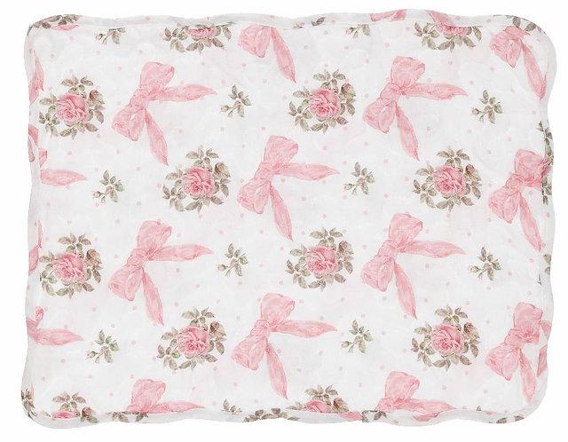 Romanzo - Tovaglietta fiocco rosa