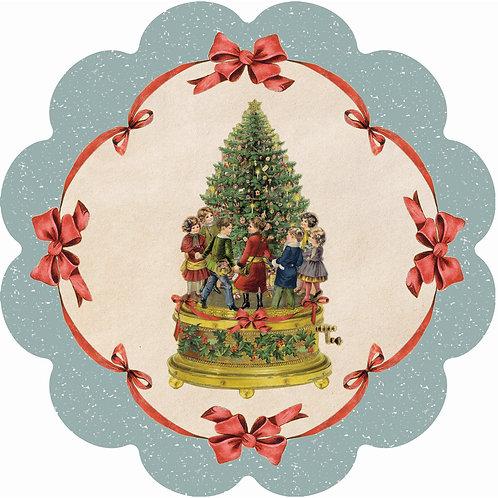 Vintage Christmas - Tovaglietta in vinile