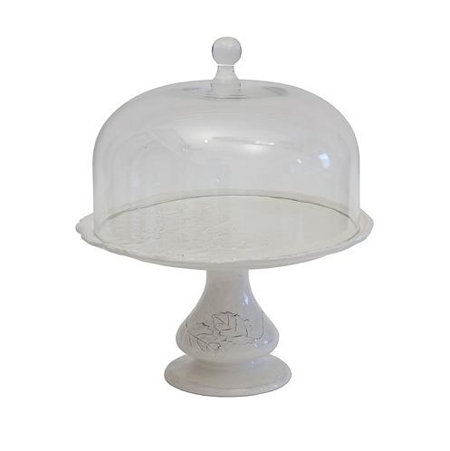 Romantica - Alzata con campana artigianale