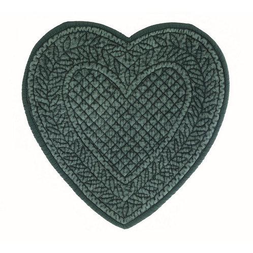 Carmen Velluto - Tovaglietta cuore verde