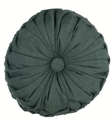 Pastel - Cuscino tondo verde