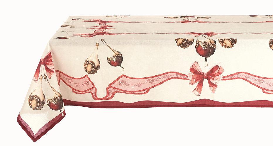 Perle di Natale - Tovaglia 160x350