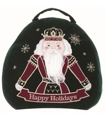 Happy Holidays - Fermaporta Schiaccianoci verde