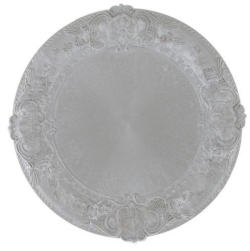 Concerto - Sottopiatto silver 34cm.