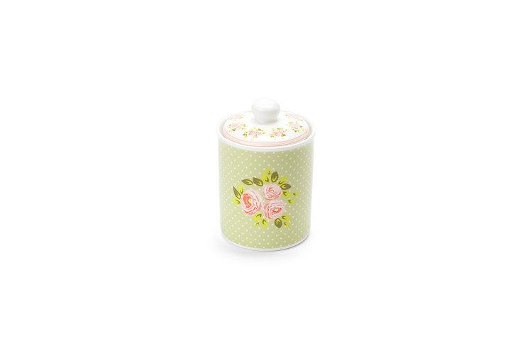 Margaret - Barattolo ermetico porcellana verde