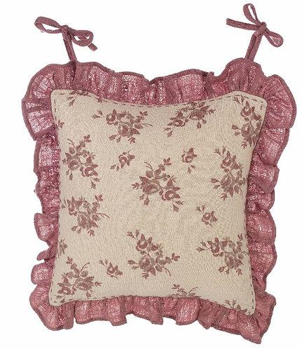 Pièce - Copri cuscino sedia con gala