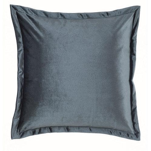 Tempera - Cuscino velluto blu 45x45