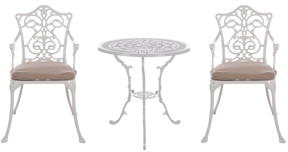 Il Giardino Armonico - Set tavolo con 2 sedie