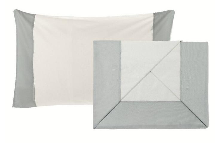 Balza Raso - Completo letto singolo balza polvere