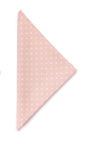 Margaret - Tovagliolo rosa a pois