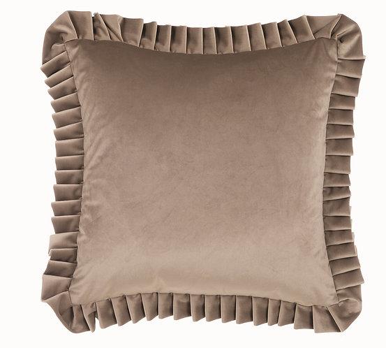Velvet - Cuscino 50x50 Grigio
