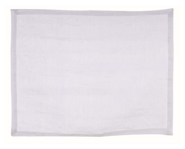 Washed Linen - Tovaglietta bianco 45x35