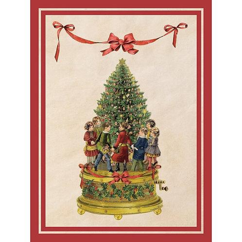 Vintage Christmas - Tappeto rettangolare 120x154