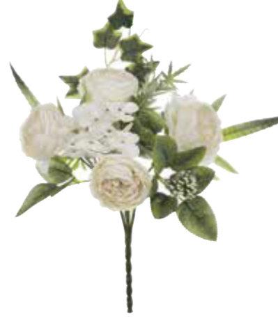 Garden Flowers - Bouquet assortito bianco