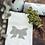 Thumbnail: Fiocco - Coppia spugna avorio con ricamo lino