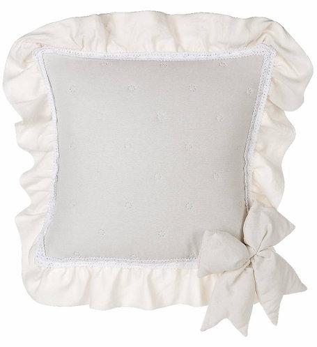 Rigoletto - Copri cuscino arredo beige